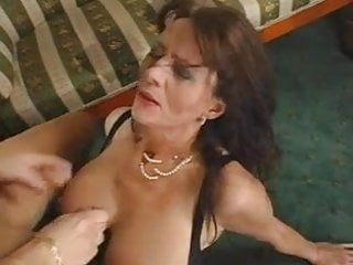 Preview 4 of Superb Hairy Mature Squirts While Fucking Young Cock