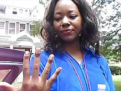 Safiyyah Ware Brown Toenails