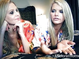 Preview 3 of Vicky Vette & Julia Ann's First Time?!