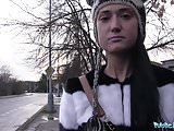 Public Agent Russian Gets Fucked By a Big Cock in Bedroom
