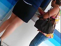 ejecutiva minifalda