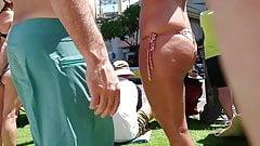 Candid Bikini 10 - milf with wide hip