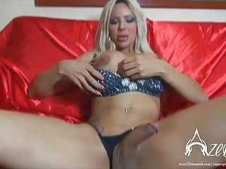 Preview 3 of TS Azeneth shows off her massive tittys and cock
