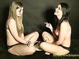 2 Hotties Smoking and Talking Sexy