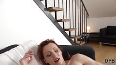 Sexy redhead milf fucked hard by black dude with big dick