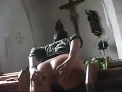 flashing in public church-crazy girl