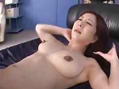 Japanese Milf shows her secret