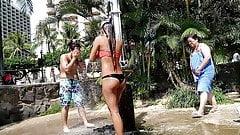 Candid Bikini 07 - shower