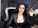 Hot Leather Clad Smoking Babes Compilation
