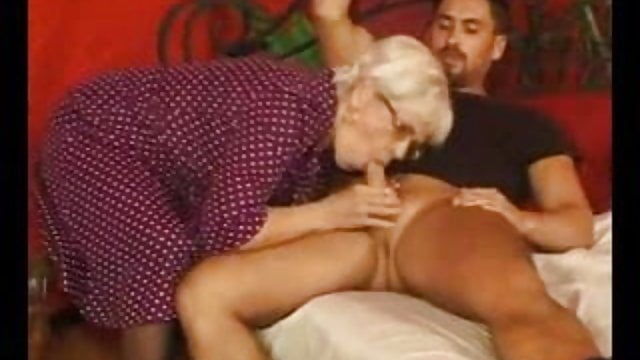 Preview 1 of Granny Gets Cum On Her Glasses