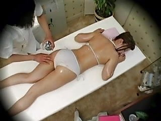 Preview 4 of Model seduced during Massage Part 1