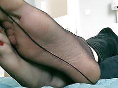 Sissy Foot Tease