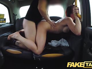 Preview 6 of Fake Taxi Personal busty redhead trainer in wild taxi fuck