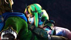 Hot Zelda action