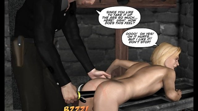 Preview 1 of GAY BDSM NIGHTMARE! 3D Gay Cartoons Anime Comics Bondage