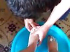 Foot washing (Pranje stopala)