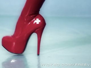 Preview 2 of Asa Akira is a naughty nurse