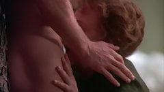 Mature actress kissing a cock