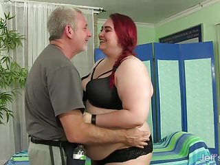 Preview 1 of BBW Big Tender Has Her Fat Body and Hairy Pussy Massaged
