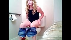 Sister in Toilet