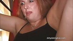 BBW slutMILF powerless to stop hubby making her squirt HD