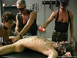 Naked college guy in bdsm scene