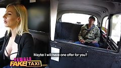 Female Fake Taxi Big tits sexy blonde fucked