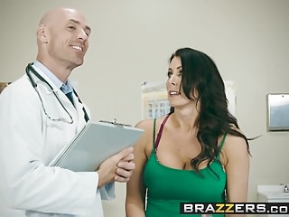 Preview 2 of Brazzers - Doctor Adventures - My Husband Is Right Outside.