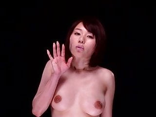 Preview 1 of Japanese Women kissing glass virtual