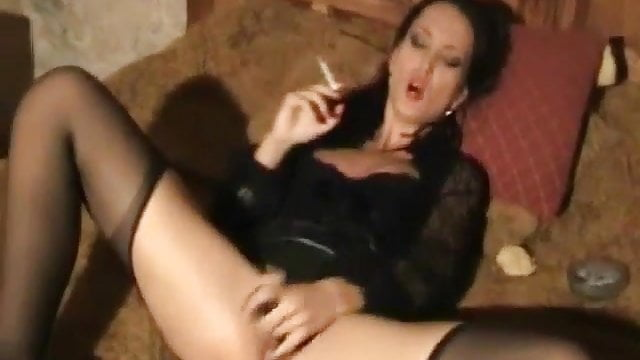 Preview 1 of Cigarette and Cum vs Leather Voyeur