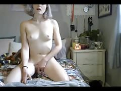 -  hot 22yo playing with herself