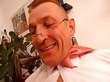 Young german slut fucked by older man