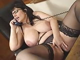 British Josephine James talks dirty on the phone