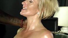 BLOND MILF vs Black Big Cock
