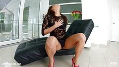 Nikki Waine in creampie scene with dripping hot jizz by All
