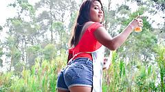 LETSDOEIT - Picked Up Latina Teen has Sex With Hot Stranger