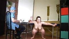 chubby nude woman medical examination
