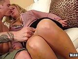 WANKZ - Hot Stepmom Hooks Up With Stepson!