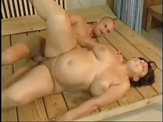Preview 4 of Hot Fat Grannie fucked by young man