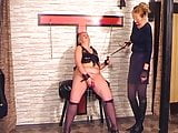 Mistress is punishing her slave