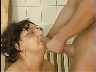 Preview 6 of Hot Fat Grannie fucked by young man