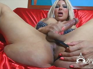 Preview 4 of TS Azeneth shows off her massive tittys and cock