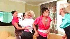 Catfight Lesbian Brawl