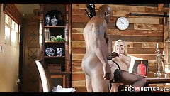 Perfect Tits White Girl Tries Bigblack Cock