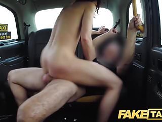 Preview 5 of Fake Taxi Personal busty redhead trainer in wild taxi fuck
