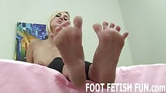 I love letting guys rub my feet