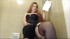 Godess pissing on slave