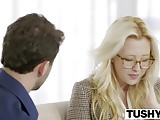 TUSHY First Anal For Blonde Babe Samantha Rone