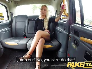 Preview 2 of Fake Taxi Busty sexy blondes holes stretched and fucked