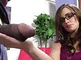 Teen lily Carter sucking big black cock BBC